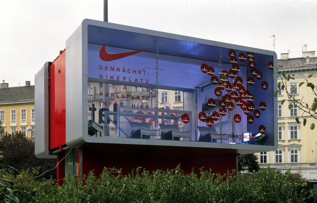 Eva & Franco Mattes, Nike Ground